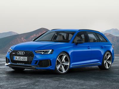 Audi RS4 (1 / 1)